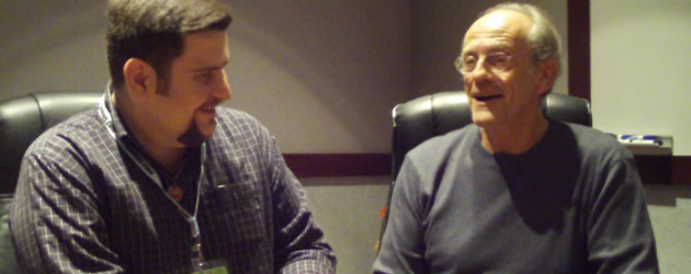 Rare interview: BACK TO THE FUTURE's Christopher Lloyd – win a signed BTTF DVD set!