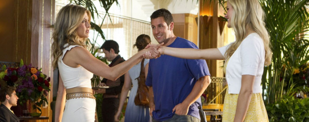 JUST GO WITH IT review by Gary Murray – can Adam Sandler and Jennifer Aniston make romantic comedy gold?