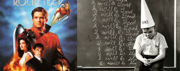 8 Days of Superheroes that got Schooled – Part 1: THE ROCKETEER