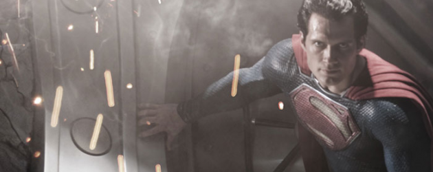 First image of Henry Cavill as Superman from Zack Snyder's MAN OF STEEL