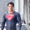 New spy photos of Henry Cavill as Superman in MAN OF STEEL – costume details revealed