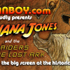 Dallas – come see RAIDERS OF THE LOST ARK in 35mm on a big screen at The Texas Theatre – prizes & more, plus wallpapers for your desktop!