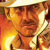 New INDIANA JONES poster by Mark Raats to promote theatrical re-release