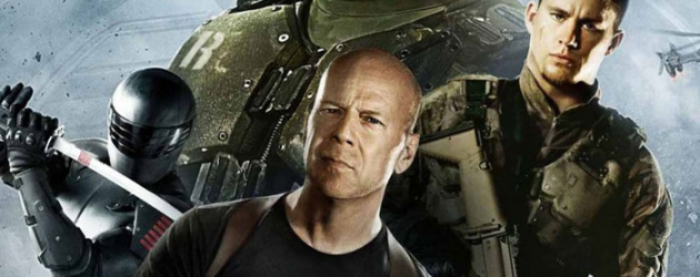 4 awesome minutes of G.I. JOE: RETALIATION (Snake Eyes in action) plus a featurette
