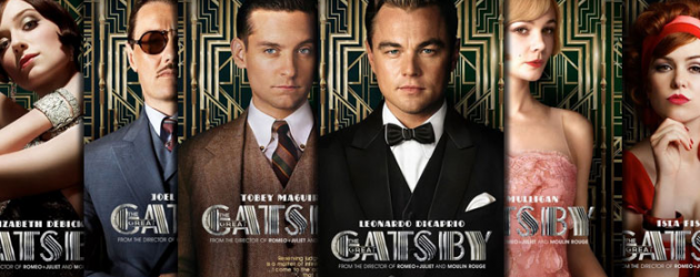 New trailer and 6 posters for THE GREAT GATSBY starring Leonardo DiCaprio, Tobey Maguire