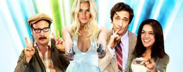 "Trailer & poster for InAPPropriate Comedy from Vince ""ShamWOW"" Offer, stars Adrien Brody & Lindsay Lohan – you won't believe it…"