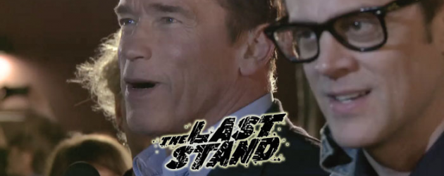 Video interview: Arnold Schwarzenegger & Johnny Knoxville on THE LAST STAND red carpet