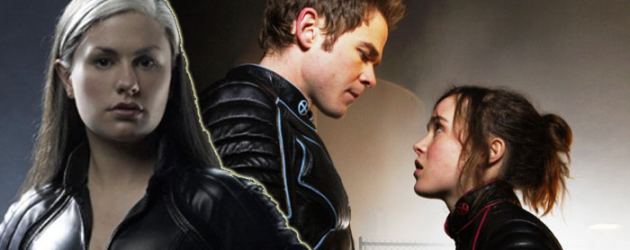 Bryan Singer's X-MEN: DAYS OF FUTURE PAST adds Anna Paquin, Ellen Page & Shawn Ashmore