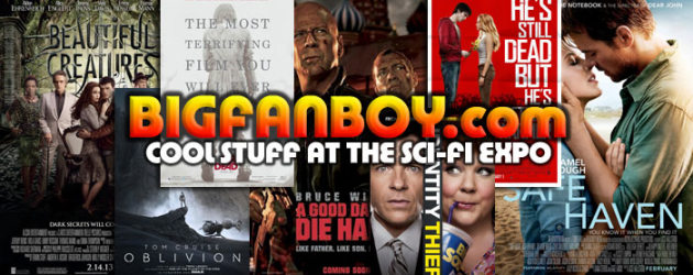 Grab and/or win cool stuff this weekend from Bigfanboy.com at SCI-FI EXPO in Dallas! Signed posters!!