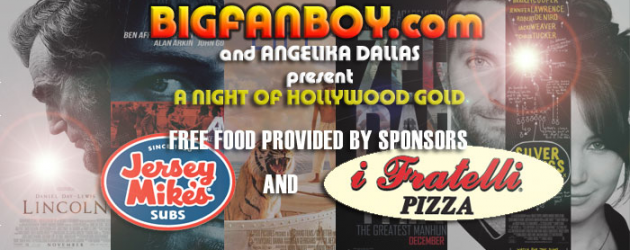 Join us Sunday (Feb 24) for A NIGHT OF HOLLYWOOD GOLD at Angelika Dallas – prizes, free admission, free food!!