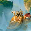 Check it out – gorgeous concept artwork for DreamWorks' THE CROODS