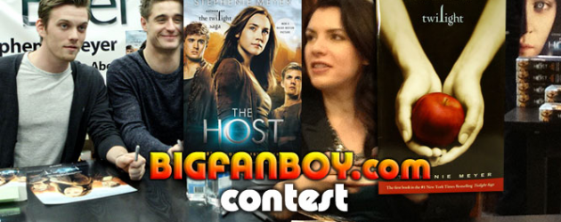 See THE HOST, win stuff, including signed posters and book(s) signed by Stephenie Meyer!