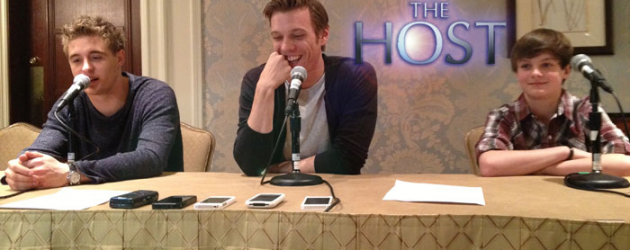 THE HOST video interview with Max Irons, Jake Abel and Chandler Canterbury