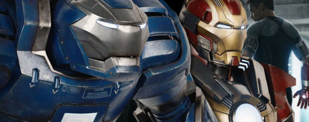 UPDATE!!! Now SIX new IRON MAN 3 suits revealed, including the infamous Hulkbuster armor