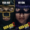 Series of character posters for comedy superhero sequel Kick-Ass 2