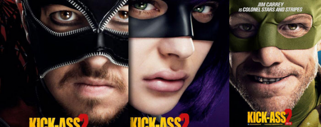 3 of the newest KICK-ASS 2 character posters, including one that's NSFW