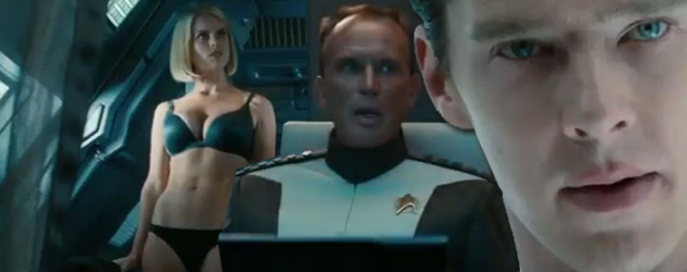 STAR TREK INTO DARKNESS new trailer – first good look at Peter Weller, and a sexy look at Alice Eve – plus NEW poster!
