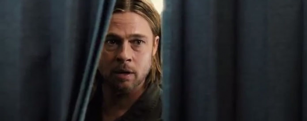WORLD WAR Z gets a new trailer and 2 new posters – Brad Pitt vs. zombies!