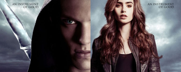 MORTAL INSTRUMENTS: CITY OF BONES new trailer and 2 new posters