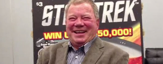 Exclusive video interview: William Shatner on dogs, Dallas Comic Con, re-fighting Gorn in the STAR TREK Video Game