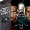 See AFTER EARTH this weekend, win an AFTER EARTH prize pack – t-shirt, poster, bracelet