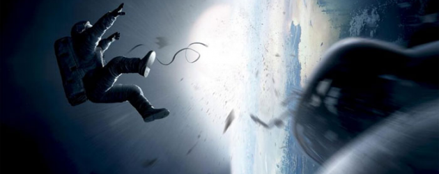 First poster & trailer for Alfonso Cuarón's GRAVITY starring George Clooney & Sandra Bullock