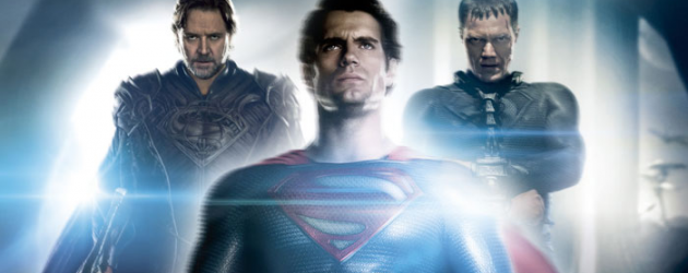 MAN OF STEEL 13-minute promo clip Gets Behind The Cape