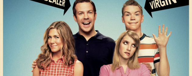 WE'RE THE MILLERS review by Gary Murray – Jennifer Aniston & Jason Sudeikis make a funny family