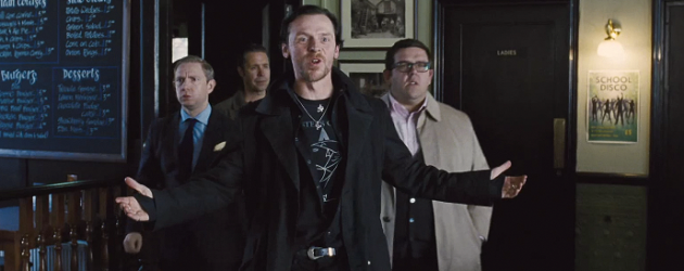 THE WORLD'S END Cornetto Trilogy trailer reminds us how happy we are to see Pegg, Frost & Wright back together