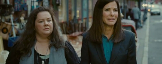 THE HEAT review by Marc Ciafardini – Sandra Bullock & Melissa McCarthy do the buddy cop thing