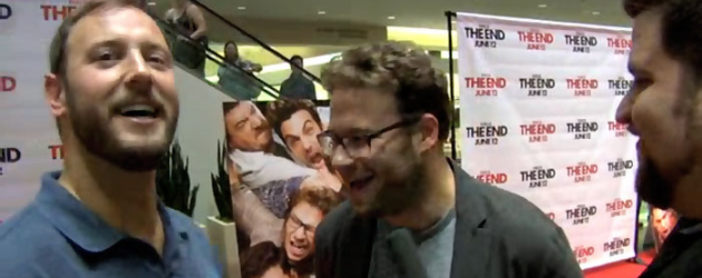 Video interview: Seth Rogen and Evan Goldberg talk THIS IS THE END… in a mall