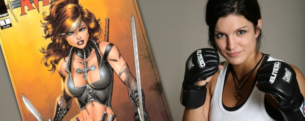 SDCC 2013: Rob Liefeld bringing his AVENGELYNE to the big screen with Gina Carano signed on to star!