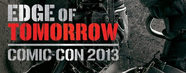 SDCC 2013: EDGE OF TOMORROW Character Posters for Tom Cruise and Emily Blunt