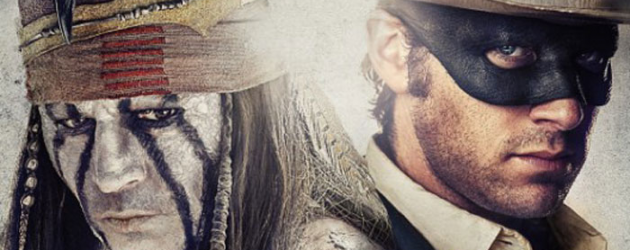 THE LONE RANGER review by Mark Walters – Johnny Depp & Armie Hammer revive a classic hero