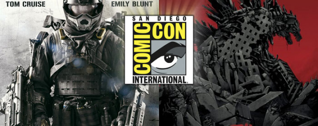 SDCC 2013: Exclusive posters of GODZILLA and Tom Cruise's EDGE OF TOMORROW debut at Comic-Con