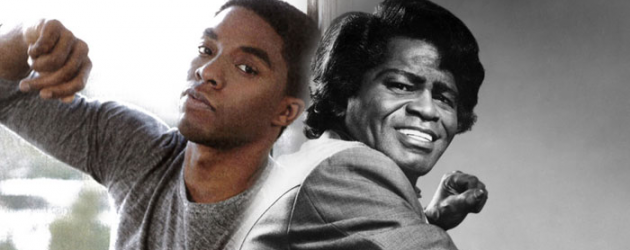 42 star Chadwick Boseman to play Godfather of Soul James Brown in biopic produced by Brian Grazer
