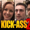 KICK-ASS 2 video interviews: Aaron Johnson, Chris Plasse, Lindy Booth, Donald Faison and Mark Millar & JRJR
