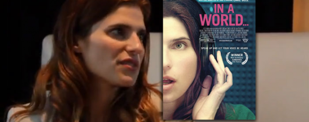 Video interview: Lake Bell talks about writing, directing and starring in IN A WORLD…