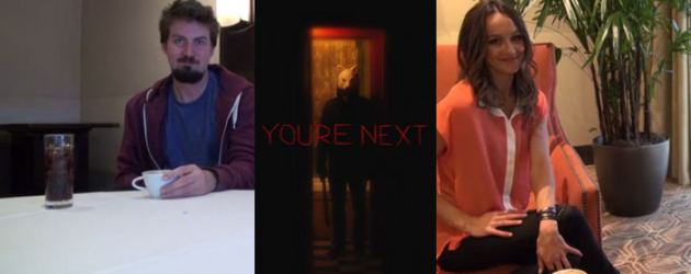 SXSW 2013: YOU'RE NEXT video interviews with director Adam Wingard and star Sharni Vinson