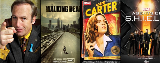 TV News: Better Call Saul, The Walking Dead Spin-Off, Agent Carter and Marvel's Agents of S.H.I.E.L.D.