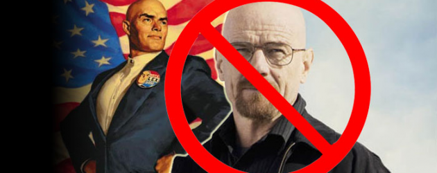 Okay, Bryan Cranston is NOT Lex Luthor in MAN OF STEEL 2… but let's talk about who could be