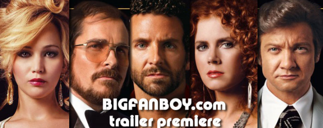 New trailer & five new posters for David O. Russell's 1970s crime drama AMERICAN HUSTLE – Christian Bale, Amy Adams, Bradley Cooper, Jennifer Lawrence & Jeremy Renner star