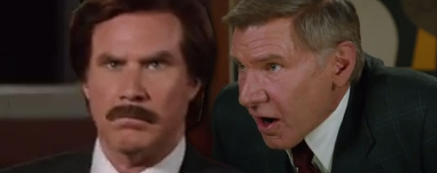 ANCHORMAN 2 new International trailer – Will Ferrell is the worst anchorman Harrison Ford has ever seen