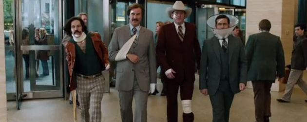 ANCHORMAN 2 new trailer – Will Ferrell is back, and on cruise control – plus a countdown clock