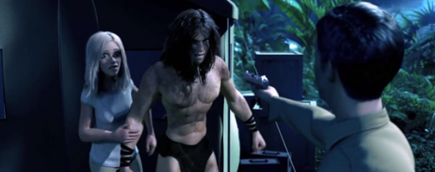 Trailer for TARZAN 3D features a motion-captured Kellan Lutz as the Edgar Rice Burroughs hero