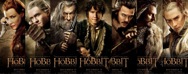Seven new high resolution posters for THE HOBBIT: THE DESOLATION OF SMAUG