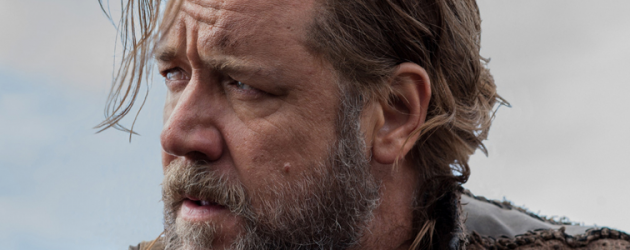 First poster & trailer for Darren Aronofsky's NOAH starring Russell Crowe & Anthony Hopkins