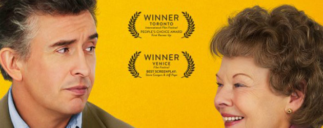 PHILOMENA review by Gary Murray – Steve Coogan holds his own with Judi Dench