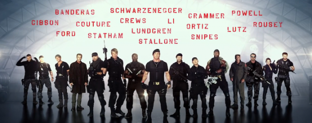Sylvester Stallone leaves sixteen action stars under your tree with THE EXPENDABLES 3 teaser trailer