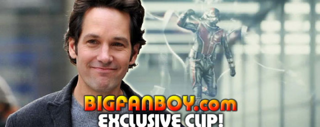 Bigfanboy.com exclusive – First clip of Paul Rudd in Marvel's ANT-MAN movie!